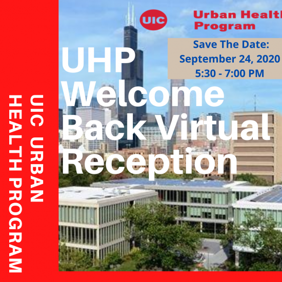UHP Virtual Welcome Back Reception!