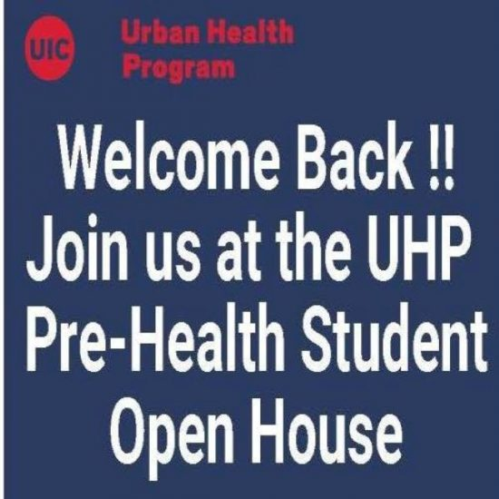 UHP Pre-Health Students Open House